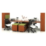 Hot Sales 4 seats Office Workstation