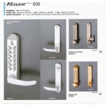 REL.K500 Mechanical Digital Lock with Levers on Both Sides