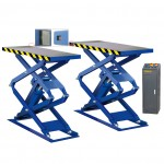 Torin BigRed Double Scissor In-Ground Car Lift(3000 Kg)