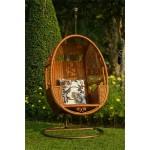 လွပပီးဒီဇိုင္းဆန္ေသာၾကိမ္ထည္ဒန္း (Swinging Chair)