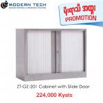 ZT-GZ-201 Cabinet With Slide Door