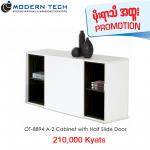 OT-8841 A-2 Cabinet with Half Slide Door