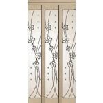 ဆန္းသစ္လွပေသာ Sliding Glass Wood Door