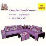 ေသသပ္ လွပပီး သက္ေသာင့္ သက္သာရွိေသာ ဧည့္ခန္းသံုး ဆိုဖာ ထိုင္ခံု ( Couple Hand Corner )