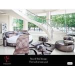 ဆန္းသစ္လွပေသာ Round Bed design
