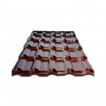 ေျမွာင္းပံုသ႑ာန္ဒီဇိုင္းသစ္ အိမ္ေခါင္မိုး/ သြပ္ Roof Sheet