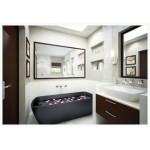 လွပ ေသသပ္ ပီး ဒီဇိုင္းဆန္သည့္ ေရခ်ိဳးခန္းမ်ား ( Bath Room )