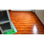 Modern polished high gloss laminate flooring