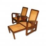 ကြ်န္းျဖင့္ျပဳလုပ္ထားေသာ ဒီဇိုင္းဆန္းပီး ေသသပ္ လွပသည့္ ေခါက္ကုလားထိုင္ ( Deck –Chair )