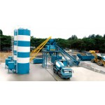 Portable Wet Concrete Batching Plant