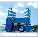 Horizontal Wet Concrete Batching Plant