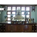 ကြ်န္းျဖင့္ျပဳလုပ္ထားသည့္ ခိုင္ခ့ံသပ္ရပ္ပီး သပၸါယ္ လွေသာ ဘုရားစင္ ( Altar )