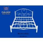ခိုင္ခံံံ့လွပေသာ နွစ္ေယာက္အိပ္ကုတင္ { Metal Double Bed }