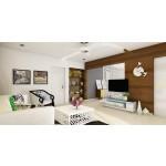 သပ္ရပ္ လွပပီး ဒီဇိုင္းဆန္းသည့္ အိမ္ ဧည့္ခန္းမ်ား ( Living Room Decoration )