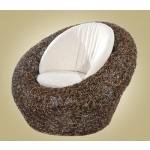 ေသသပ္ လွပေသာ ၾကိမ္ ျဖင့္ျပဳလုပ္ထားသည့္ ခြက္ပံုစံ  ၾကိမ္ထိုင္ခံု ( Pecaso Rattan Chair )