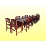 ဒီဇိုင္းဆန္းသည့္ လွပေသာ ကြ်န္း ကုလားထိုင္ နွင့္ အစည္းေဝးသံုး စားပြဲ (Teak Chair & Meeting Table  )