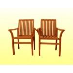 ေသသပ္ လွပသည့္ လက္ကိုင္ပါေသာ ကြ်န္း ကုလားထိုင္ ( Fixed Chair )