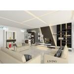 ေသသပ္လွပပီး ဒီဇိုင္းဆန္းေသာ  အိမ္ဧည္ခန္း { Livingroom Design }
