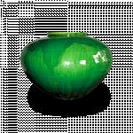 လွပပီး ဒီဇိုင္းဆန္းသည့္ ဖားဥ ပံု႑န္ ရွိေသာ အိုး ( frog's egg Jar )