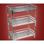 အသံုးျပဳ ရလြယ္ ကူသည့္ စတီးလ္ျဖင့္ျပဳလုပ္ထားေသာ စတီးလ္ ပန္းကန္စင္ ( Steel Plate Stand )
