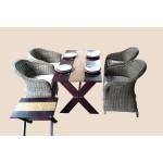 ထမင္း စားပြဲ နွင့္ ကုလားထုိင္ ( Pretoria Club Chair )