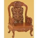 လွပေသာ  နဂါးပံုစံ ကုလားထိုင္ ( Single Dragon Chair )
