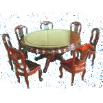 ထမင္းစားခန္းသံုး လွပသည့္ ထမင္း စားပြဲ ခံု ( Dinning Table Sets )