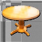 ကြ်န္းျဖင့္ ျပဳလုပ္ထားေသာ ေသသပ္လွပသည့္ စားပြဲခံု ( Table )