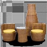 ေသသပ္လွပပီးက်န္းမာေရးနွင့္ညီေသာ (coffee table နွင့္ bottle chair)