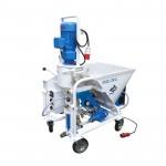 Plastering pump