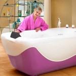 လွပပီးသက္ေသာင့္သက္သာရွိေသာအပန္းေျဖေရခ်ိဳးကန္ (Bath tubs)