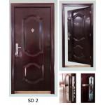 Steel Wooden Door တံခါးမျကီး၊ အတြင္းခန္းတံခါး