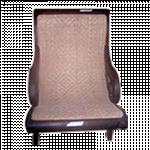 သပ္ရပ္ လွပေသာ သစ္ေစးသုတ္ထားသည့္ ကြ်န္း ကုလားထိုင္ ( Lacquer Teak Chair )