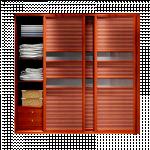 ရုိးရွင္းေသသပ္ေသာ Clothes Bedroom Cabinet
