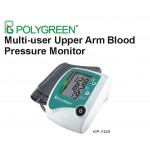 Multi-user Upper Arm Blood Pressure Monitor