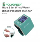 Ultra Slim Wrist Watch Blood Pressure Monitor