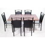 က်ိတ္သား ျဖင့္ျပဳလုပ္ထားသည့္ ထမင္းစားပြဲ နွင့္ ထိုင္ခံု ( Dinning Table Set )