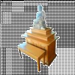 ကြ်န္း ဘုရားစင္ ( Teak Altar )
