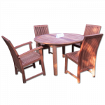 ကြ်န္း ကုလားထိုင္ နွင့္ ေကာ္ဖီစားပြဲ ( Chair & Coffee Table )