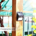 16 LED Solar Motion Sensor