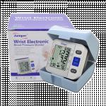 Automatic digital Wrist Cuff Blood Pressure Monitor with Case LCD Display (လက္ေကာက္ဝတ္ေသြးဖိအားတိုင္းကိရိယာ)
