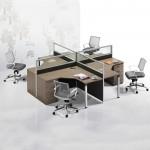 မ်က္နွာခ်င္းဆိုင္ေလးေယာက္သံုးစားပြဲ(Office Furniture)