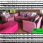 HOME GALAXY Sofa Chair - 9090C (1+1+3) ဟိုတယ္သံုး ဆိုဖာထုိင္ခံု