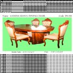Ganesa Mawa Dining Chair အင္းဒိုနီးရွားကၽြန္းျဖင့္ ျပဳလုပ္ထားသည့္ ထမင္းစာပြဲ