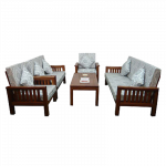 Rectangular Living Room Table & Chair LRT-17,LS-16,LD-16,LT-16 ဧည့္ခန္းသံုး ထိုင္ခံုဆိုဖာ