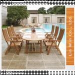 Oval Extension Table & Chair TOVE-02, CRVS-03 ဘဲဥပံု စားပြဲ နွင့္ ေျခာက္ေယာက္ထိုင္ခံု