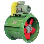 Blower EuroVent Axial fan with belt drive ALc Series