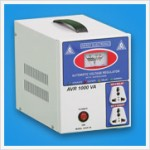 1000 VA AUTO VOLTAGE REGULATOR ( WITH SAFEGUARD)