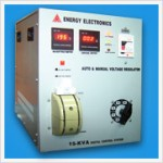 15 KVA AUTO & MANUAL VOLTAGE REGULATOR (DIGITAL)