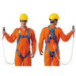 Economic Full Body Harness built in Lanyard & Snap Hook
